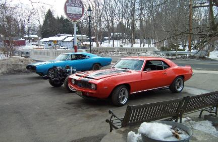 Camaro and Charger