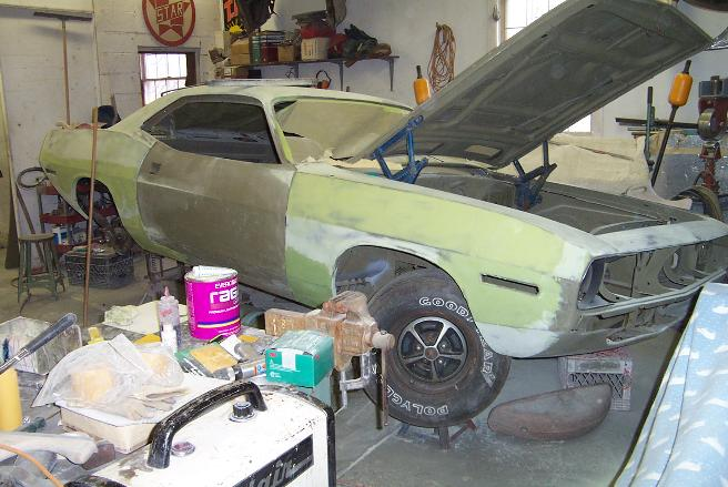 Classic Auto Body Repair Restoration In New Jersey - Muscle car repair