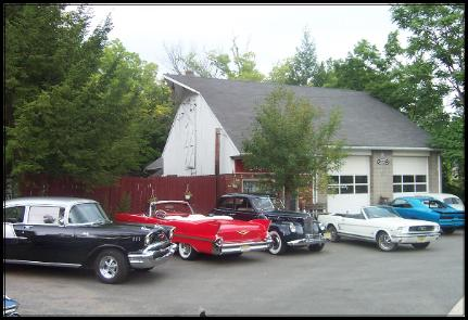 Check out the classic cars at our shop.