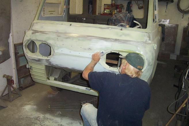 We're experts in classic auto body repair.